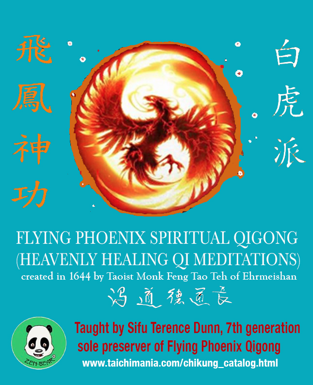 Flying Phoenix Qigong poster
