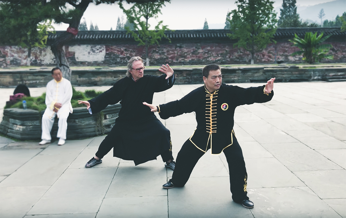 martial arts fukui yang yang taijiquan training taijiquan